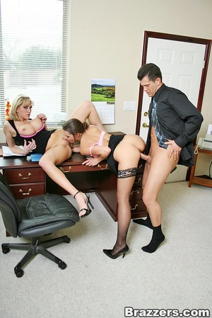 Sexy secretary. Busty office whores Penn - XXX Dessert - Picture 12