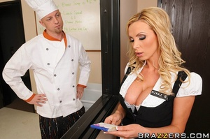 Xxx office girls. Horny blond gets pussy - XXX Dessert - Picture 5