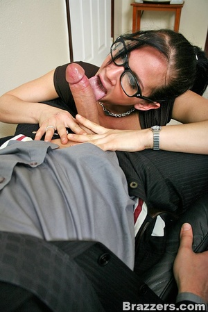 Office girl. Hot office chick with big b - XXX Dessert - Picture 5