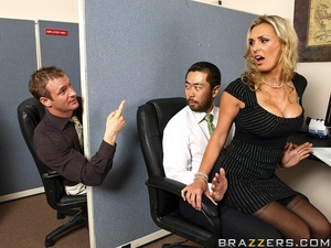 Tits porn. Tanya Tate gets a taste of th - XXX Dessert - Picture 5