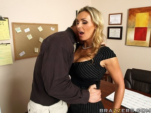 Tits porn. Tanya Tate gets a taste of th - XXX Dessert - Picture 6