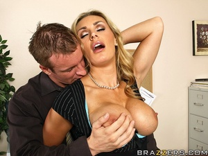 Tits porn. Tanya Tate gets a taste of th - XXX Dessert - Picture 7