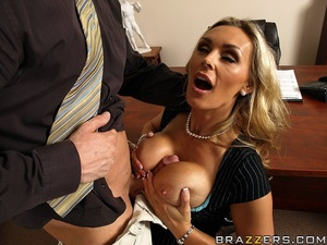 Tits porn. Tanya Tate gets a taste of th - XXX Dessert - Picture 8