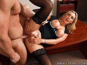 Tits porn. Tanya Tate gets a taste of th - XXX Dessert - Picture 10