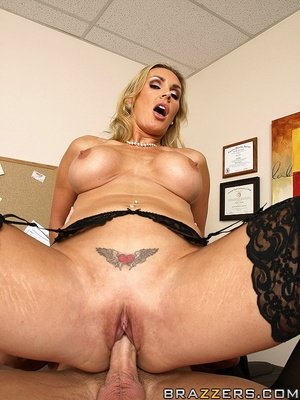 Tits porn. Tanya Tate gets a taste of th - XXX Dessert - Picture 14