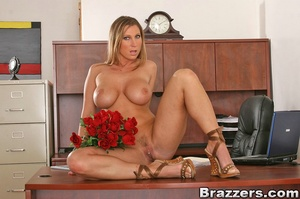 Horny secretary. Devon Lee fucks her val - XXX Dessert - Picture 3