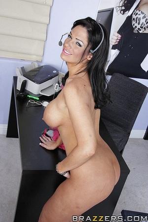 Beautiful boobs. Angela Aspen getting dr - XXX Dessert - Picture 4