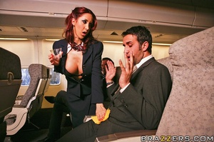 Big busty. This flight attendant is taki - XXX Dessert - Picture 5