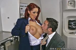 Big busty. This flight attendant is taki - XXX Dessert - Picture 7