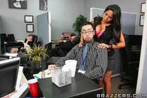 Busty girls. Busty brunette gets fucked  - XXX Dessert - Picture 5