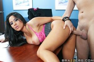 Busty girls. Busty brunette gets fucked  - XXX Dessert - Picture 10