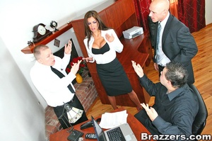 Office porn. Hunter Bryce forced into in - XXX Dessert - Picture 6