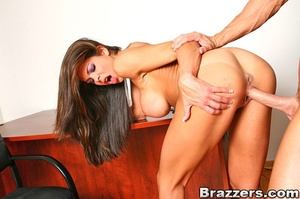 Office porn. Hunter Bryce forced into in - XXX Dessert - Picture 10