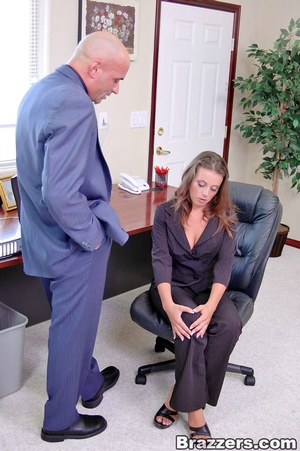 Big breast. New big titted coworker gets - XXX Dessert - Picture 4