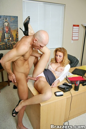 The office xxx. Busty secretary getting  - XXX Dessert - Picture 11