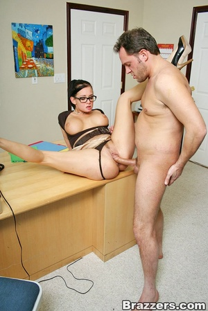 Huge boobs. Busty office girl Tory Lane  - XXX Dessert - Picture 10