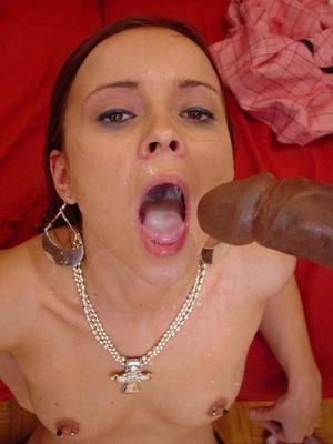 Interracial porn. Tiny twat takes the im - XXX Dessert - Picture 20