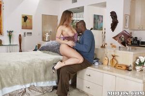 Black white porn. Devon Lee is doing the - XXX Dessert - Picture 7