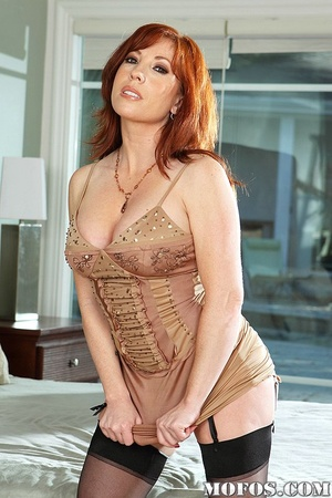 Office milf. Brittany's husband is not a - XXX Dessert - Picture 1