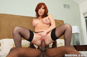 Office milf. Brittany's husband is not a - XXX Dessert - Picture 12