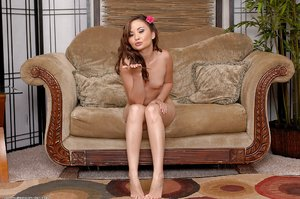 American oriental naked babe