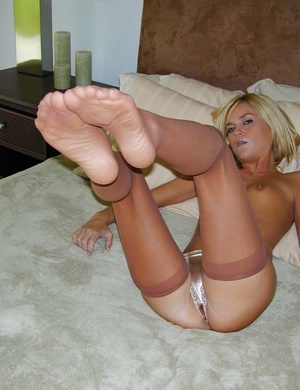 Ladies panties. Blonde McKenzee shows of - XXX Dessert - Picture 13