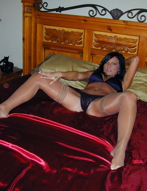 Sexy pantyhose. Cali's panties are hot b - XXX Dessert - Picture 2
