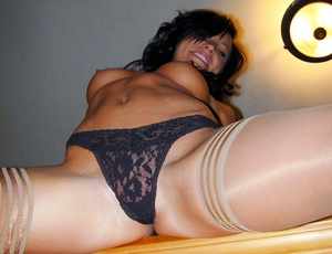 Sexy pantyhose. Cali's panties are hot b - XXX Dessert - Picture 7