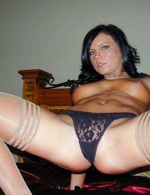 Sexy pantyhose. Cali's panties are hot b - XXX Dessert - Picture 10