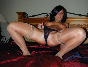 Sexy pantyhose. Cali's panties are hot b - XXX Dessert - Picture 11