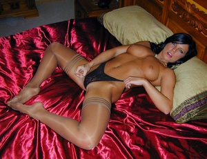 Sexy pantyhose. Cali's panties are hot b - XXX Dessert - Picture 13