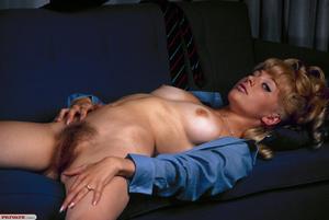 Xxx classic porn. Hairy blonde with a bi - XXX Dessert - Picture 9