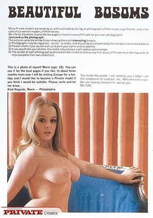 Old porn. Magazine article about sexclub - XXX Dessert - Picture 1