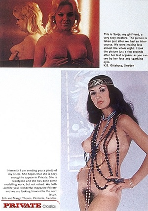 Old porn. Magazine article about sexclub - XXX Dessert - Picture 3