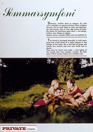 Retro xxx. Several girls showing the tru - XXX Dessert - Picture 1