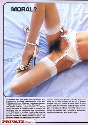 Retro nude. Naughty chicks from the Eigh - XXX Dessert - Picture 1