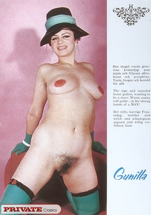 Classic retro porn. Natural sixties lady - XXX Dessert - Picture 7