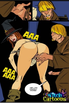 Cartoonporn. Priest gets laid by witch. - Picture 3