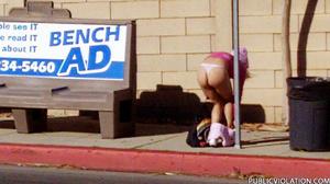 Sex on public. Girls sharked, stripped a - XXX Dessert - Picture 12