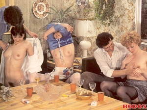 Hairy xxx. Real horny retro pissing and  - XXX Dessert - Picture 5