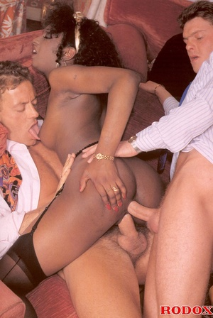 Hairypussy. Really hardcore interracial  - XXX Dessert - Picture 12