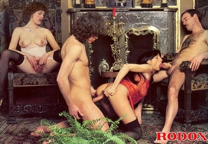 Hairy gallery. Hairy retro hookers getti - XXX Dessert - Picture 11