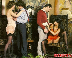 Hairy gallery. Hairy retro hookers getti - XXX Dessert - Picture 17