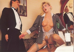 Very hairy pussy. Horny seventies lady p - XXX Dessert - Picture 12