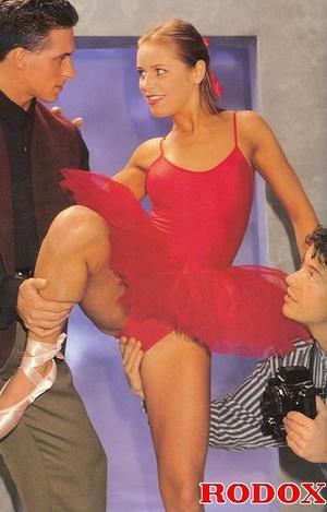 Classic xxx. Flexible retro ballerina en - XXX Dessert - Picture 3