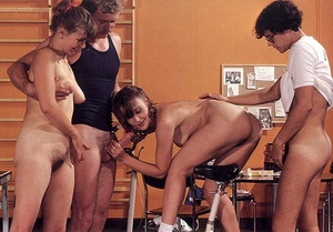 Hardcore. Retro girls fucked during the  - XXX Dessert - Picture 12