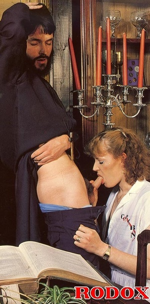 Hairy. Seventies nuns and priests love t - XXX Dessert - Picture 4