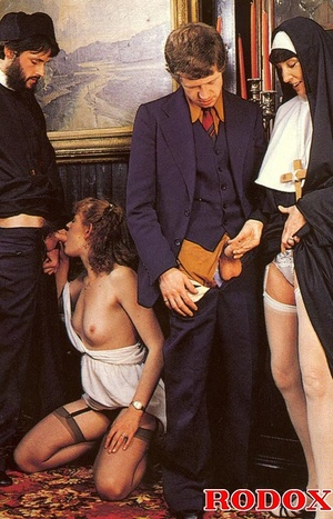 Hairy. Seventies nuns and priests love t - XXX Dessert - Picture 6