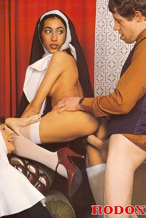 Hairy. Seventies nuns and priests love t - XXX Dessert - Picture 13