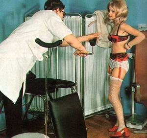 Classic girl porn. Retro doctor fucking  - XXX Dessert - Picture 3